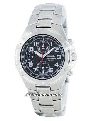 Seiko Chronograph Quartz Tachymeter SNN137 SNN137P1 SNN137P Men's Watch