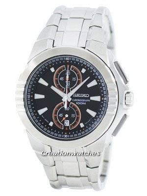 Seiko Chronograph Quartz SNN145 SNN145P1 SNN145P Men's Watch