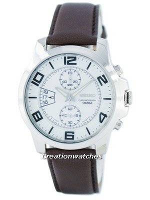 Seiko Chronograph Quartz SNN165 SNN165P1 SNN165P Men's Watch