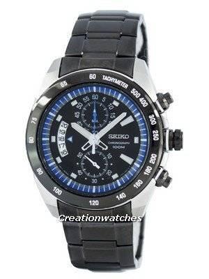 Seiko Chronograph Quartz Tachymeter SNN183 SNN183P1 SNN183P Men's Watch