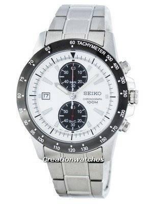 Seiko Chronograph Quartz Tachymeter SNN187 SNN187P1 SNN187P Men's Watch