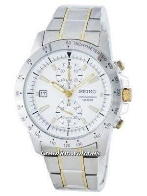 Seiko Chronograph Quartz Tachymeter SNN189 SNN189P1 SNN189P Men's Watch