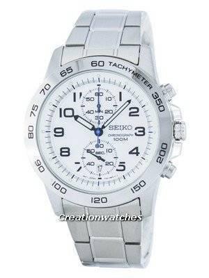 Seiko Chronograph Quartz Tachymeter SNN191 SNN191P1 SNN191P Men's Watch