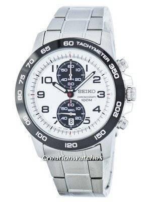 Seiko Chronograph Quartz Tachymeter SNN195 SNN195P1 SNN195P Men's Watch
