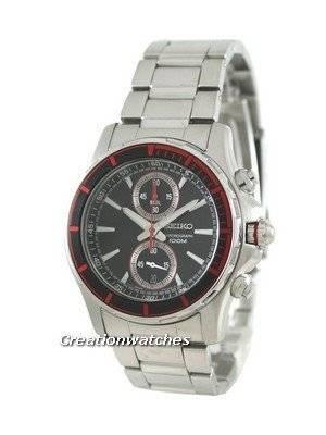Seiko Quartz Chronograph SNN247P1 SNN247P SNN247 Mens Watch