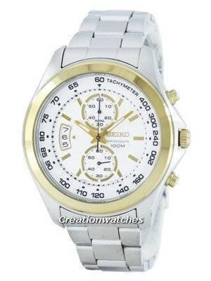 Seiko Chronograph Quartz Tachymeter SNN256 SNN256P1 SNN256P Men's Watch