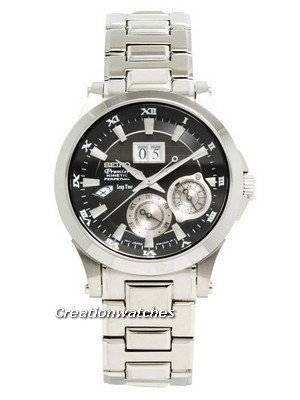 Seiko Premier Kinetic Perpetual Calendar SNP003P1 SNP003P SNP003 Men's Watch