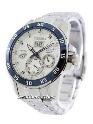 Seiko Sportura Kinetic Perpetual SNP085 SNP085P1 SNP085P Men's Watch