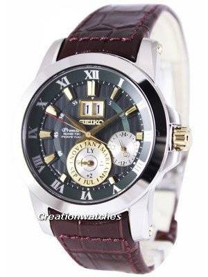 Seiko Premier Kinetic Perpetual SNP127 SNP127P1 SNP127P Men's Watch