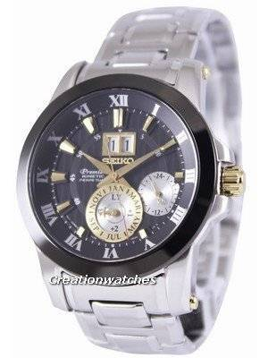 Seiko Premier Kinetic Perpetual SNP129 SNP129P1 SNP129P Men's Watch