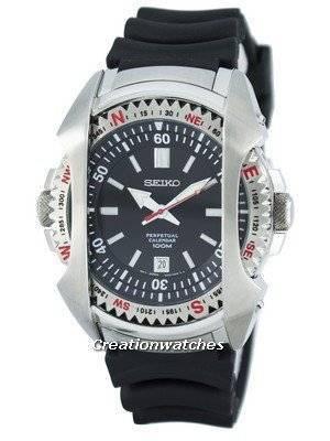 Seiko Quartz Perpetual Calendar SNQ091 SNQ091P1 SNQ091P Men's Watch