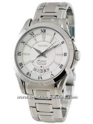 Seiko Premier Perpetual Calendar SNQ107P1 SNQ107P SNQ107 Men's Watch