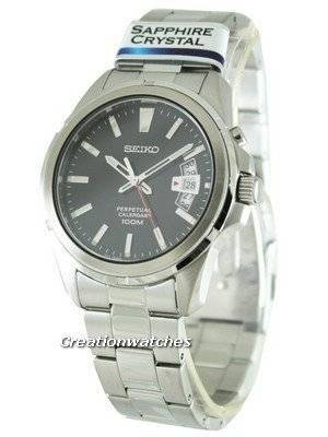 Seiko Quartz Perpetual SNQ131 SNQ131P1 SNQ131P Men's Watch