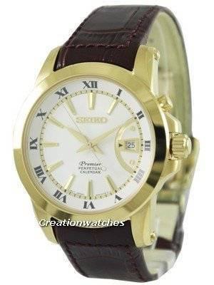 Seiko Premier Perpetual Calendar SNQ144P1 SNQ144P Men's Watch