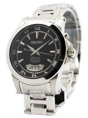 Seiko Premier Perpetual Calender SNQ147 SNQ147P1 SNQ147P Men's Watch