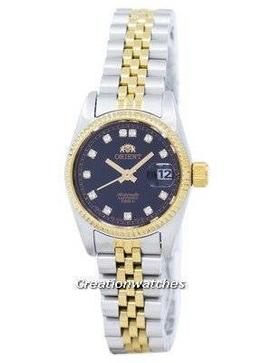 Orient Automatic Japan Made Diamond Accent SNR16002B Women's Watch