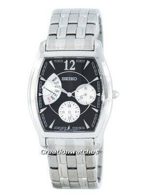 Seiko Retrograde Quartz SNT013 SNT013P1 SNT013P Men's Watch
