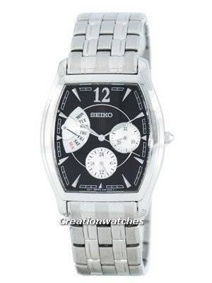 Seiko Retrograde Quartz SNT013 SNT013P1 SNT013P Men's Watch