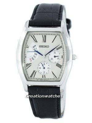 Seiko Retrograde Quartz SNT015 SNT015P1 SNT015P Men's Watch