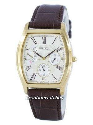 Seiko Retrograde Quartz SNT018 SNT018P1 SNT018P Men's Watch