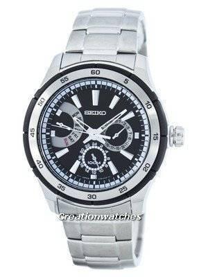 Seiko Retrograde Quartz SNT019 SNT019P1 SNT019P Men's Watch
