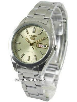 Seiko 5 Automatic Champagne Dial SNX995 SNX995K1 SNX995K Men's Watch
