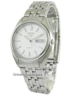 Seiko 5 Automatic Silver Dial SNXA09 SNXA09K1 SNXA09K Men's Watch