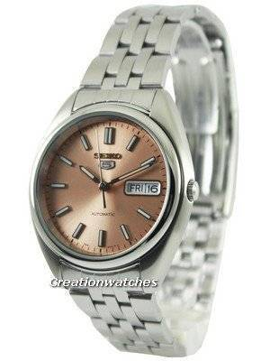 Seiko 5 Automatic Copper Tone Dial SNXA11K1 SNXA11K Men's Watch