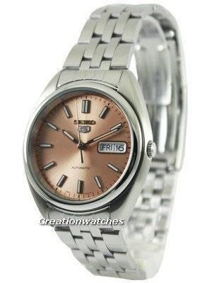 Seiko 5 Automatic Copper Tone Dial SNXA11K1 SNXA11K Men's Watch