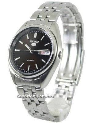 Seiko 5 Automatic Black Dial SNXA13 SNXA13K1 SNXA13K Men's Watch