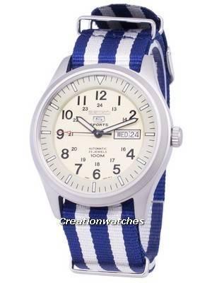Seiko 5 Sports Automatic Nato Strap SNZG07K1-NATO2 Men's Watch