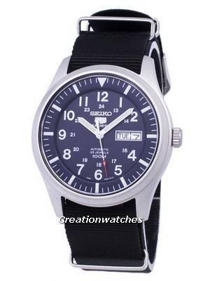 Seiko 5 Sports Automatic Nato Strap SNZG11K1-NATO4 Men's Watch