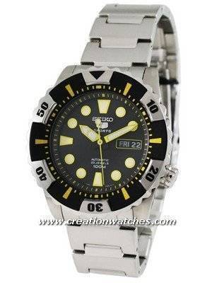 Seiko 5 Sports Automatic Divers SNZJ15K1 SNZJ15 SNZJ15K Men's Watch