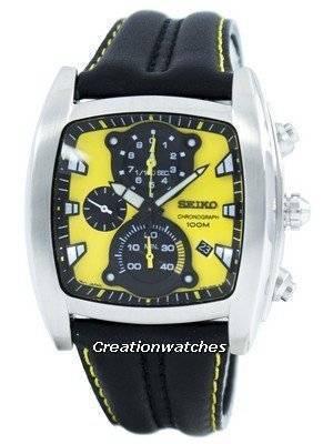 Seiko Retrograde Chronograph Quartz SPC035 SPC035P1 SPC035P Men's Watch