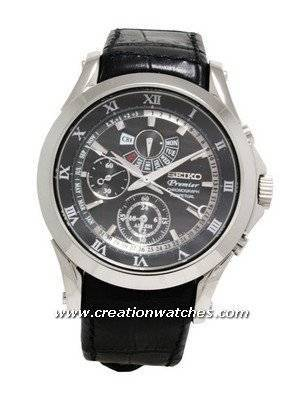Seiko Men's Watches Premier Chronograph Perpetual SPC053P1 SPC053P