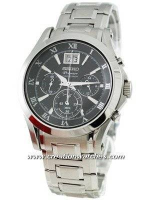 Seiko Premier Chronograph SPC057P1 SPC057P SPC057 Men's Watch