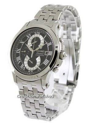 Seiko Premier Chronograph SPC067 SPC067P1 SPC067P Men's Watch