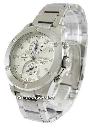 Seiko Chronograph SPC091 SPC091P1 SPC091P Men's Watch