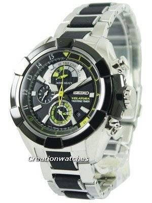 Seiko Velatura Yachting Timer Chronograph SPC147 SPC147P1 SPC147P Men's Watch