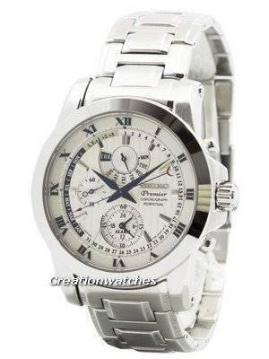 Seiko Premier Chronograph Perpetual Calendar SPC159 SPC159P1 SPC159P Men's Watch