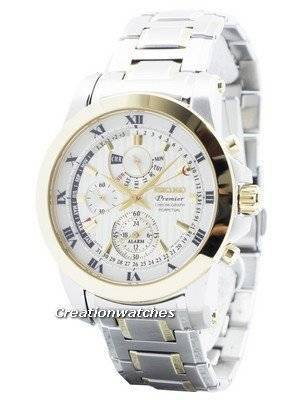 Seiko Premier Chronograph Perpetual Calendar SPC162 SPC162P1 SPC162P Men's Watch