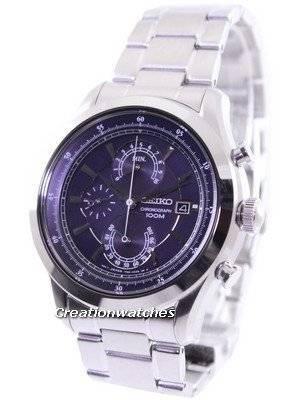 Seiko Chronograph 100M SPC165 SPC165P1 SPC165P Men's Watch