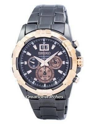 Seiko Lord Chronograph Quartz SPC192 SPC192P1 SPC192P Men's Watch