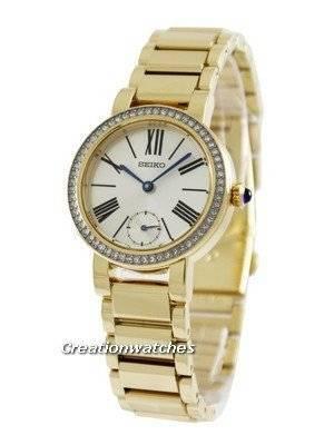 Seiko Swarovski Crystals SRK028P1 SRK028P SRK028 Women's Watch