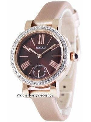 Seiko Quartz Crystals SRK032 SRK032P1 SRK032P Women's Watch