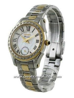 Seiko Premier Ladies Diamond SRKZ86P1 SRKZ86P SRKZ86  Watch
