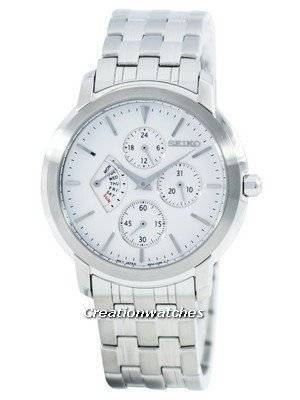 Seiko Retrograde Quartz Multi-Function SRL003 SRL003P1 SRL003P Men's Watch
