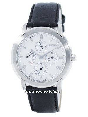 Seiko Retrograde Quartz Multi-Function SRL009 SRL009P1 SRL009P Men's Watch
