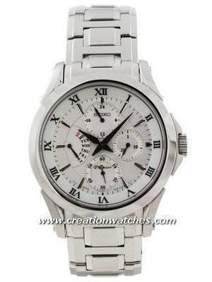 Seiko Premier SRL019P1 SRL019P SRL019 Multi-hand Calendar Men's Watch