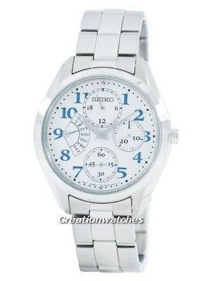Seiko Retrograde Quartz Multi-Function SRL051 SRL051P1 SRL051P Women's Watch
